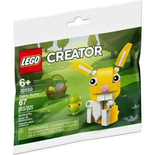 Easter Bunny Polybag NEW//SEALED LEGO 30550  Creator