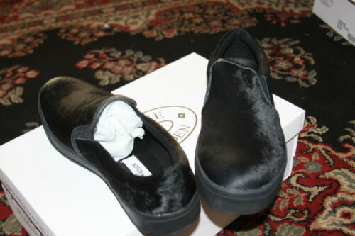Mencntrc Shoe Slip On 8 Pointure Noir Homme Pony Ybfg76y