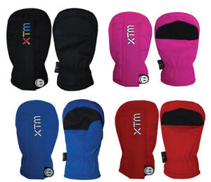 XTM-Tiny-Tots-Kids-Warm-Winter-Snow-Ski-Mittens-Ass-Colours-Toddler-Sizes-2XS-4X