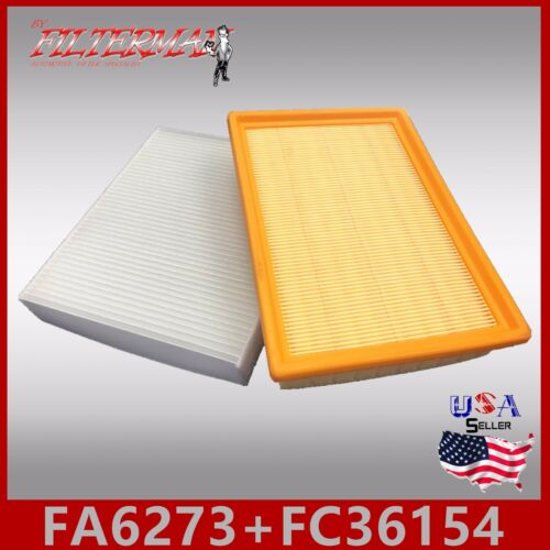 FA6273 FC36154 49590 24191 ENGINE /& CABIN AIR FILTER 2012-2018 CHEVY SONIC