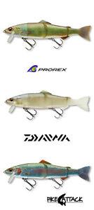 Daiwa Spare Tail Prorex Hybrid Trout 23cm Slow sinking Hechte Zander FARBEN