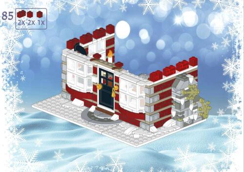 Lego Winter Village Grandmas Cottage INSTRUCTIONS ONLY 10216 10222 10249 etc