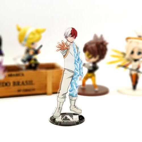 My Hero Academia Shoto Todoroki acrylic stand figure model anime toy 15 cm