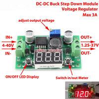 LED Display DC-DC Step down 3.3V 5V 12V 24V Adjustable Voltage Regulator Module