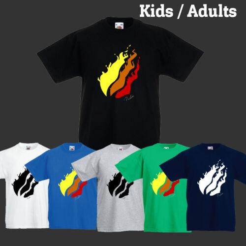 PRESTONPLAYZ Flame Adult/'s Kid/'s Boy/'s Girls T-Shirt Tee/'s Top/'s Gaming Youtube