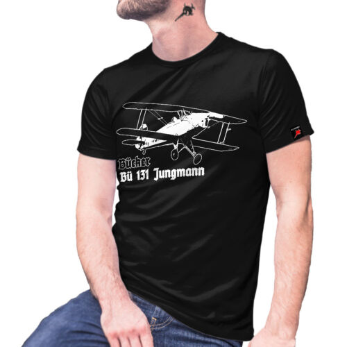 Bücker Flugzeugbau Bü 131 Jungmann Doppeldecker Flugzeug Anders Anderson #27683