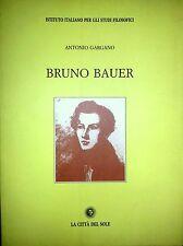 ANTONIO GARGANO BRUNO BAUER LA CITTÀ DEL SOLE 2003