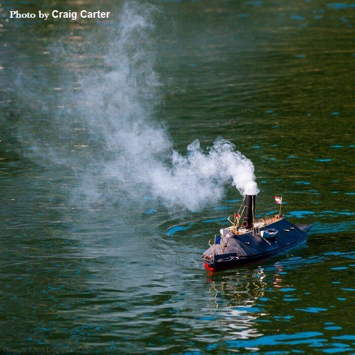 RC Model Boat Smoke Generator 6-8 Volt & & & Smoke Fluid V4 S2 Series Two e9b842