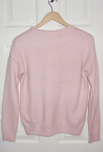 BNWT Primark womens Disney Beauty and the Beast CHIP MRS POTTS pink jumper
