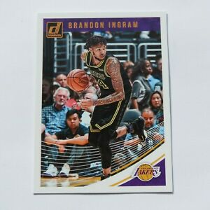 Brandon-Ingram-Panini-Donruss-2018-2019-64-LA-Lakers-NBA-Basketball-Card