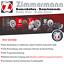 Zimmermann Bremsscheiben /& Beläge Audi A6 C5 Skoda Superb VW Passat 3B Hinten