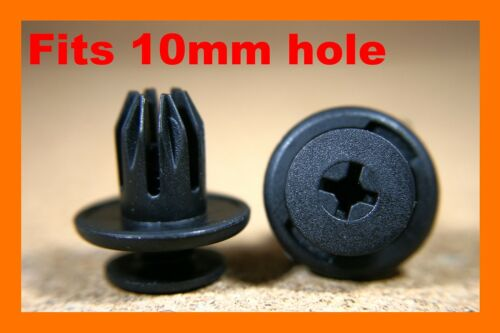 For MINI 10 Wheel arch lining mud splash guard bumper panel fasteners clips