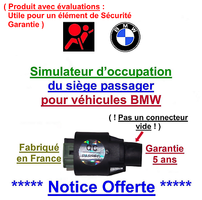 problème airbag Simulateur de tapis sensitif de BMW X3 E83 X5 E53 Z3 E36 Z4 E85