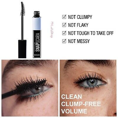 987bc4caaa8 Details about Maybelline Mascara Snapscara Very Black Clean Clump Free  Glossy Volume GetItFast