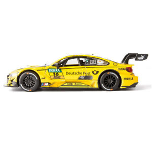 1/32 BMW M4 DTM 2017 Timo Glock Racing Car Model Diecast Toy Vehicle Pull Back