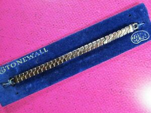 NEW-Vintage-Stonewall-10K-PINK-Gold-Filled-Ladies-Stretch-Watch-Band-5-1-8-10-034