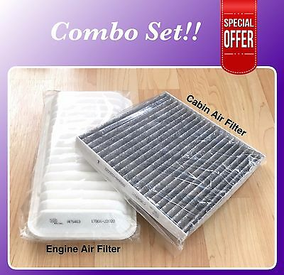AF5463 C35491 Combo Set Engine /& Cabin Air filter for TOYOTA Corolla /& Matrix