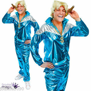 Mens-Adult-Retro-80s-90s-Shell-Suit-Track-Suit-Chav-Fancy-Dress-Costume-Outfit