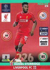"Panini Adrenalyn Champions League 2014/15:"" Master Daniel Sturridge 162 """