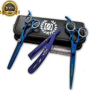 Professional-Salon-Hair-Cutting-Thinning-Scissors-Barber-Shears-Hairdressing-Set