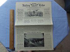 1962 Potomac Ed. Fantasy Newspaper-June 1862, Stonewall's Valley Campaign, Draft