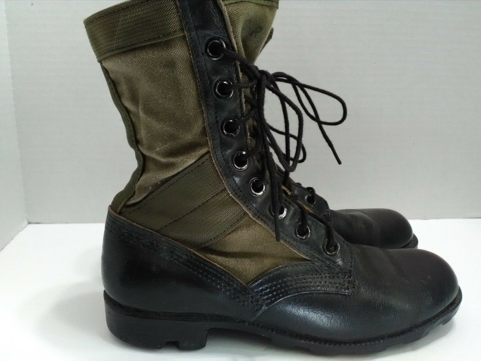 Military green olive jungle boots hot weather RO search size 6R men women unisex