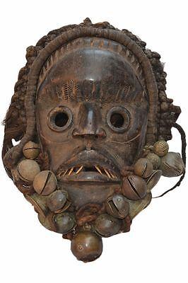 47) Dan Yakuba Maske Afrika Alt / Masque Dan Yacouba Ancien / Old Dan Mask