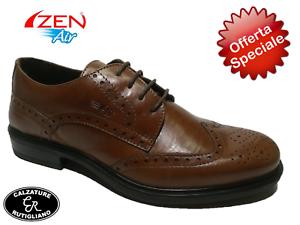 Zen anglais Respira pour article marron cuir hommes 176370 en ligne Chaussures Comoda Air A8CqF8