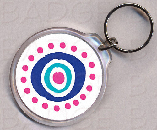 LOST OCEANIC AIRLINES round keyring - DOUBLE SIDED!