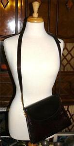 Ireland Classic Handbag Purse Classy Style Brown Leather Retro Crossbody In Made zqSUMGpV