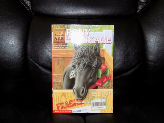 Animal Ark: Pony in a Package 27 by Ben M. Baglio (2003, Paperback) EUC