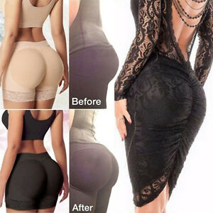 f097916ad8f Women s Padded Bum Pants Enhancer Shaper Butt Lifter Booty Underwear ...