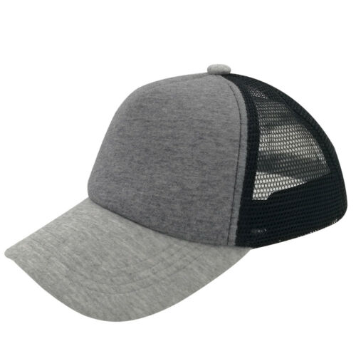 Kids Child Blank Trucker Hats Mesh Caps Snapbacks Hats 54-58cm Summer Fall