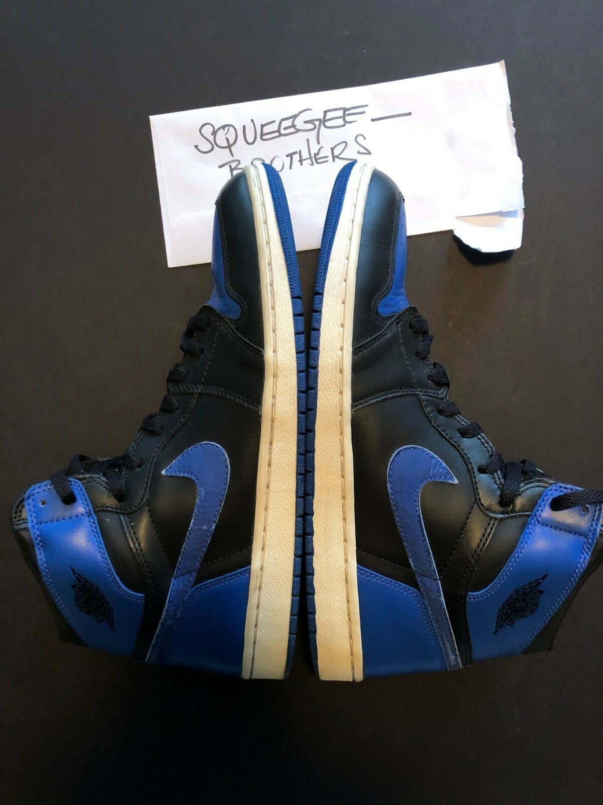 Air Jordan 1 Retro Royal bluee OG 2001 Size 11.5 Nike