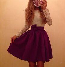 Women Long Sleeve Ball Gown Slim Patchwork Casual Lace Dress Vestido De Renda