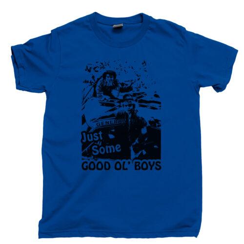 Good ol Boys T Shirt DUKES OF HAZZARD GENERAL LEE Dixie Air Horn Drapeau Rebel Yell