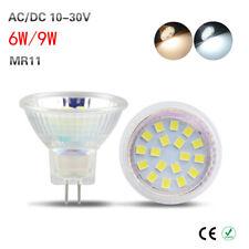 Mr11 12 LED Smd5050 Bulb Dichroic 35mm Cool White 1.5 W 12v AC Dc