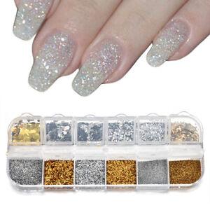 Nail-Art-Glitter-Powder-Dust-UV-Gel-Acrylic-Powders-Sequins-Christmas-Nail-Tips