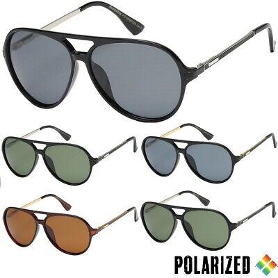 Polarised Lens Free Post Metal Arms Men/'s Polarized Sunglasses Shield Frame