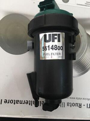 5514800 FILTRO CARBURANTE GASOLIO COMPLETO ORIGINAL UFI FIAT DUCATO cc 2300 3000