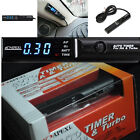 Car Turbo Timer Black Pen Control JDM Universal Blue LED Digital Control Monitor