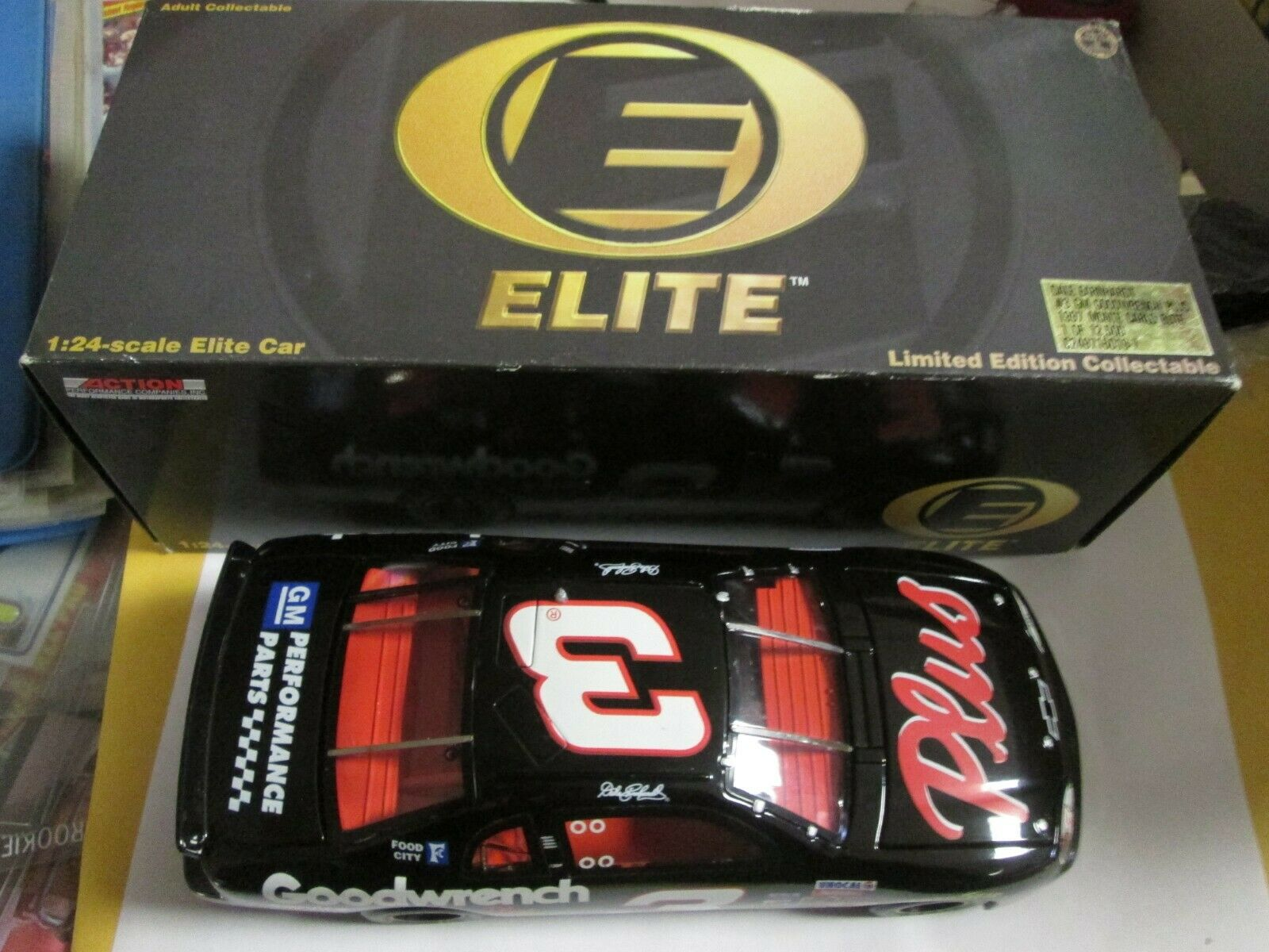 Dale Earnhardt 1997 ACDelco Monte Carlo 1 24 Scale Scale Scale Action Elite Die Cast Car 2af4d9