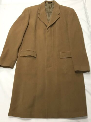 Vintage DKNY Wool and Cashmere Blend Overcoat / Tr