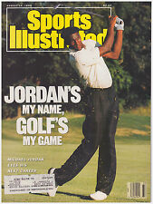 Sports Illustrated August 14, 1989 Michael Jordan's My Name Golf's My Game Bulls