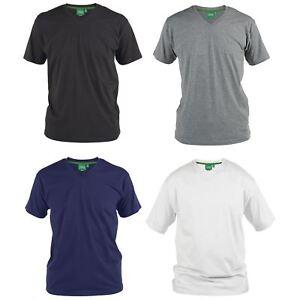 4de9060d792553 Duke D555 Big Tall King Size Signature Mens T Shirt V Neck Short ...