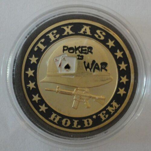 POKER IS WAR poker Card Guard Protector