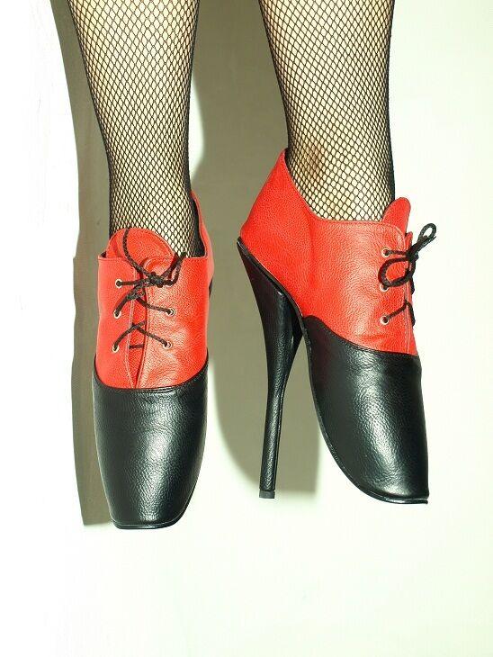 High heels, pumps ballet kunst leder   producer-poland  -heels 21cm-grobe 37-47