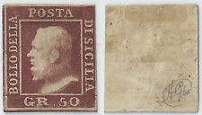 SICILIA 1859  n.15 gr 20 USATO TL