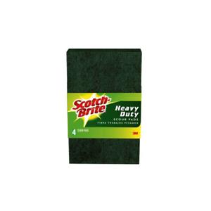 Scotch Brite Heavy Duty Scour Pad 224 T 6 In X 3 8 In Ebay