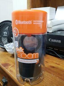 Free shipping. Polk Boom Swimmer Jr Bluetooth Waterproof Speaker Brand New